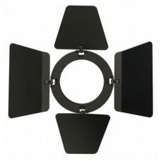 Showtec Barndoor for LED Compact Studio Beam кашетирующие шторки для LED Compact Studio Beam, чёрные