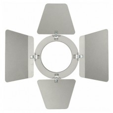 Showtec Barndoor for LED Compact Studio Beam кашетирующие шторки для LED Compact Studio Beam, серебристые