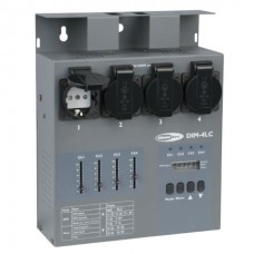 Showtec DIM-4LC диммер/свитчер, 4 канала