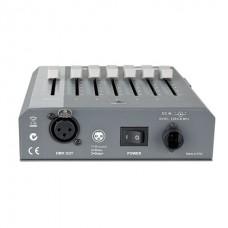 Showtec SDC-6 фейдерная световая консоль, 6 каналов