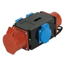 SHOWTEC CEE 16A - 3 X SCHUKO SPLITTER