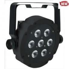 Showtec Compact Par 7 Tri Black полноцветный светодиодный прожектор