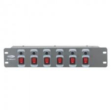 Showtec DJ-Switch 6 аналоговый свитчер, 6 каналов