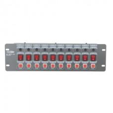 Showtec DJ-Switch 10F аналоговый свитчер, 10 каналов
